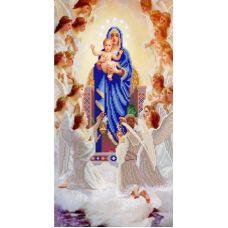 Ткань для вышивания бисером Пение ангелов, 25x45, Конек