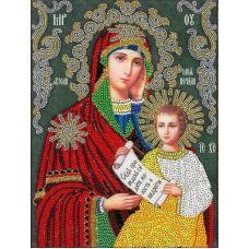 Набор для вышивания Утоли моя Печали, 19,5x26,5, Вышиваем бисером