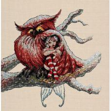 Набор для вышивания крестом Под крылом, 23x24, НеоКрафт