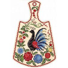 Набор для вышивания крестом Расписной павлин, 29x19, Щепка (МП-Студия)