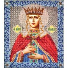Набор для вышивания Святая Людмила, 18x21, Вышиваем бисером