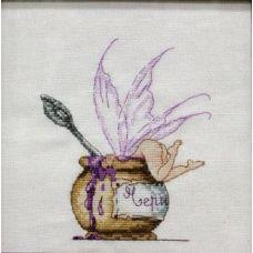 Набор для вышивания крестом Черничный десерт, 12x15, НеоКрафт