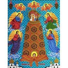 Набор для вышивания Богородица Прибавление Ума, 27x34, Вышиваем бисером