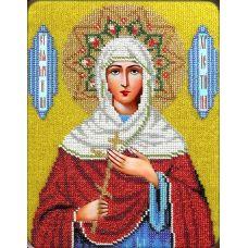 Набор для вышивания Святая Кристина, 19x24,5, Вышиваем бисером