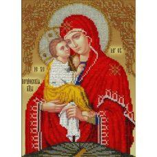 Набор для вышивания Богородица Почаевская, 19x26, Вышиваем бисером