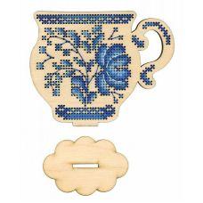 Набор для вышивания крестом Время пить чай, 11x9, Щепка (МП-Студия)
