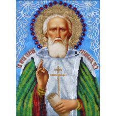 Набор для вышивания Святой Сергий Радонежский, 19x27, Вышиваем бисером