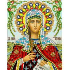 Набор для вышивания Святая Татьяна, 19x24, Вышиваем бисером