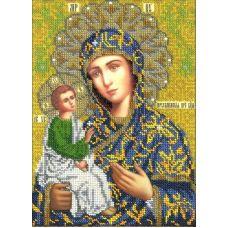 Набор для вышивания Богородица Иерусалимская, 19,5x25,5, Вышиваем бисером