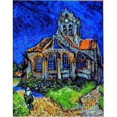 Набор для вышивания Церковь в Овере, 20x27, Палитра
