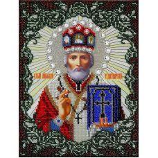 Набор для вышивания Святой Николай Угодник, 19x26,5, Вышиваем бисером