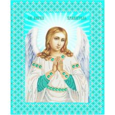 Ткань для вышивания бисером Св. Ангел Хранитель, 20x25, Конек