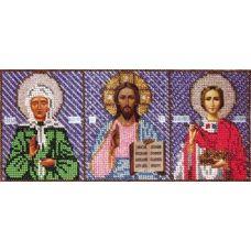 Набор для вышивания Триптих, 26x11, Вышиваем бисером