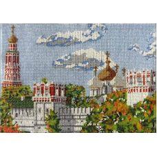 Набор для вышивания Новодевичий монастырь, 26x37, Вышиваем бисером