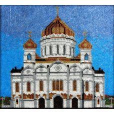 Набор для вышивания Храм Христа Спасителя, 26x28, Вышиваем бисером