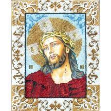 Набор для вышивания Спас в терновом венце, 18x24, Вышиваем бисером