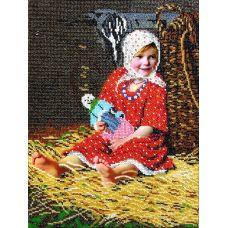 Набор для вышивания Варварка, 25x34, Вышиваем бисером