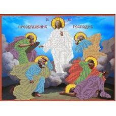 Ткань для вышивания бисером Преображение Господне, 27,6x35, Каролинка