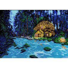 Набор для вышивания Волшебный лес, 25,6x36,5, Вышиваем бисером