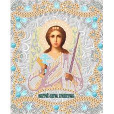 Ткань для вышивания бисером Святой Ангел Хранитель, 15x18, Конек