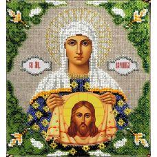 Набор для вышивания Святая Вероника, 19x20,5, Вышиваем бисером