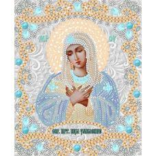 Ткань для вышивания бисером Богородица Умиление, 15x18, Конек