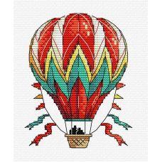 Набор для вышивания крестом Небесный тихоход, 11x9, Жар-Птица (МП-Студия)