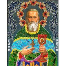 Набор для вышивания Иоанн Кронштадский, 19,5x25,5, Вышиваем бисером