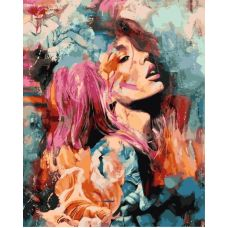 Живопись по номерам Розовый цветок, 40x50, Paintboy, GX26747
