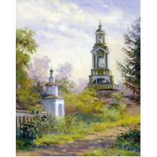Живопись по номерам Церковь, 40x50, Paintboy, GX27945