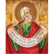 Набор для вышивания бисером Святой Пророк Наум, 12x14,5, Кроше
