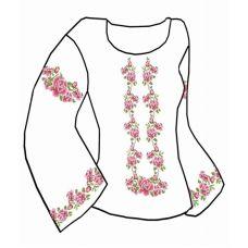 Набор элементов для вышивания на сорочке, водорастворимый флизелин КБФ-12, Каролинка
