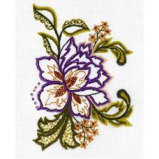 Набор для вышивания крестом Цветочные мотивы, 15x18, Риолис, Сотвори сама