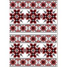 Рисунок-схема на водорастворимом флизелине КФО-3003, 25,2x36,1 см, Каролинка