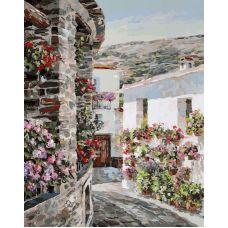 Живопись по номерам В провинции Гранада, 40x50, Белоснежка