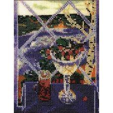 Набор для вышивания бисером Ностальгия, 15x20, Кроше