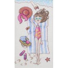 Набор для вышивания крестом Райское наслаждение, 15x25, НеоКрафт