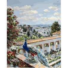 Живопись по номерам Сады Гранады-1, 40x50, Белоснежка