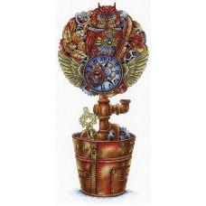 Набор для вышивания крестом Топиарий Стимпанк, 36x18, МП-Студия