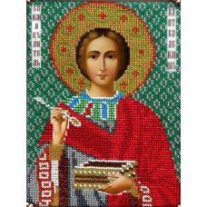 Набор для вышивания Святой Пантелеймон Целитель, 14x19, Вышиваем бисером