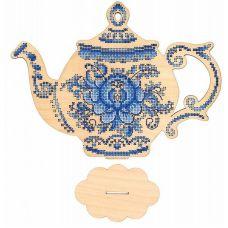 Набор для вышивания крестом Приятного чаепития, 28x20, Щепка (МП-Студия)