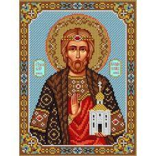 Набор для вышивания Святой Владислав, 20x26,5, Вышиваем бисером
