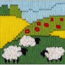 Набор для вышивания крестом Лесной луг, 6x6, Риолис, Сотвори сама