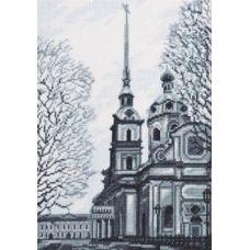 Набор для вышивания Петропавловский собор, 19x27, Палитра
