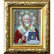 Набор для вышивания Святой Николай Угодник, 6x7, Вышиваем бисером