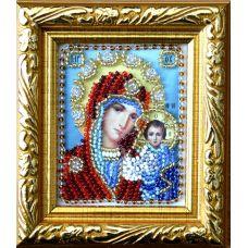 Набор для вышивания Казанская Богородица, 6x7, Вышиваем бисером