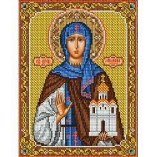 Набор для вышивания Святая Ангелина, 20x26,5, Вышиваем бисером