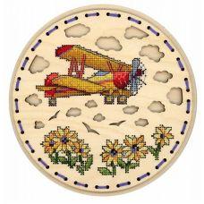Набор для вышивания крестом Высоко в небе, 18x18, Щепка (МП-Студия)