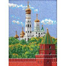Набор для вышивания Московский Кремль, 26x35, Вышиваем бисером