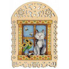 Набор для вышивания крестом Летний день, 19x14 (11x10), Щепка (МП-Студия)